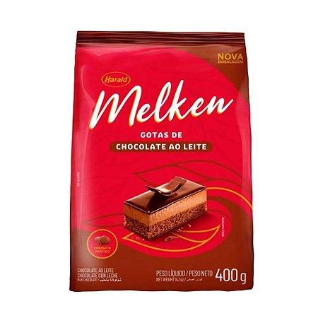 Chocolate Melken Gotas De Ao Leite 400g