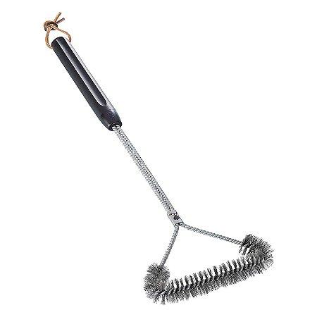 Escova Para Limpar Grelha Tres Lado