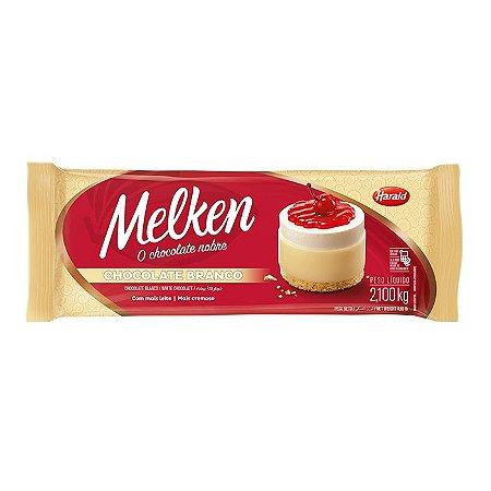 Chocolate Melken Branco 2,1kg Harald