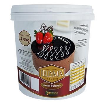 Cobertura Chocolate 4kg Jellymix