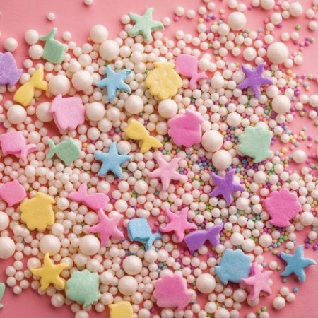 Confeito 536 Sprinkles Fundo Mar