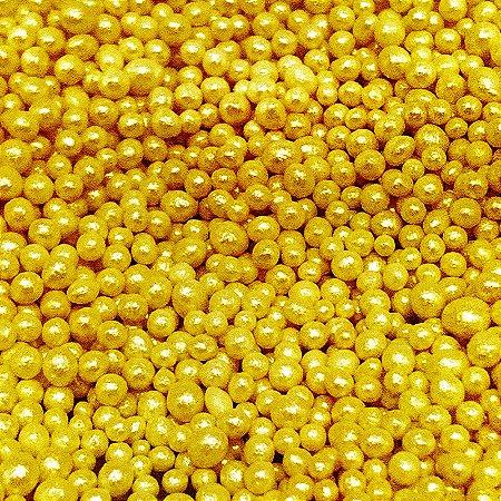 Confeito 427 Micangas Douradas 1un