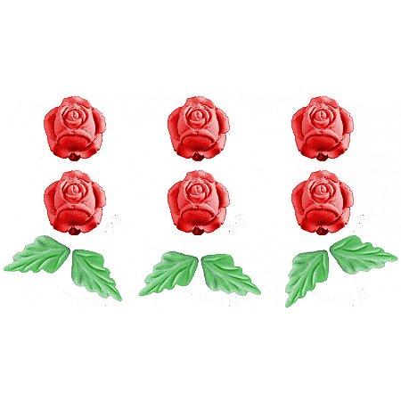 Confeito 236 Rosa Lado Vermelha 1un