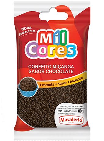 Micanga 80g Brigadeiro Mil Cores