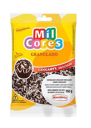 Granulado 150g Mesclado Chocolate Mil Cores