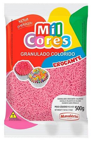 Granulado 500g Rosa Mil Cores
