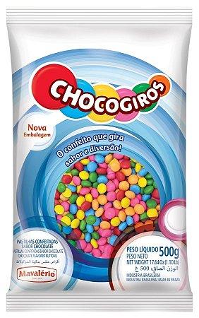 Mini Pastilha Drag Chocogiros 500g Mil