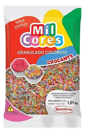 Granulado Crocante Colorido Mil Cores 1,01kg