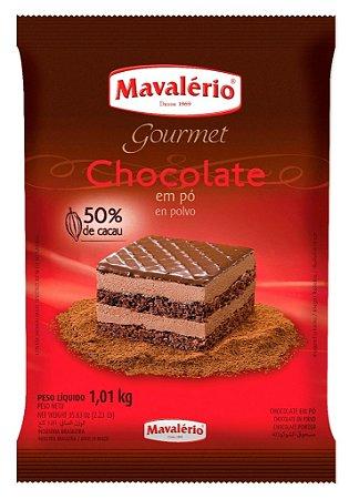 Chocolate Em Po 50% 1,01kg Mavalerio