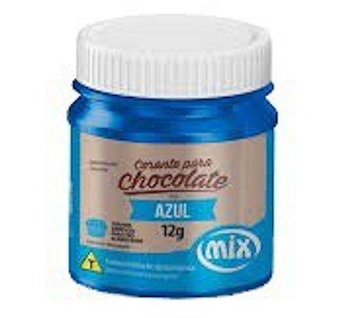 Corante Para Chocolate Mix 12g Azul
