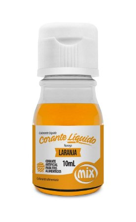 Corante Liquido Mix 10g Laranja