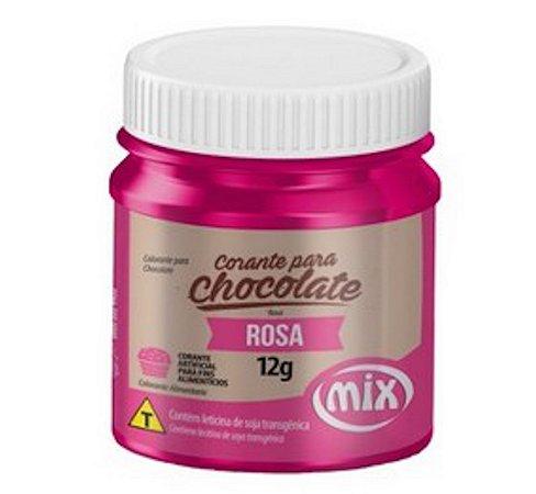 Corante Para Chocolate Mix 12g Rosa