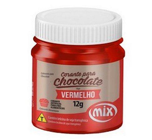 Corante Para Chocolate Mix 12g Vermelho
