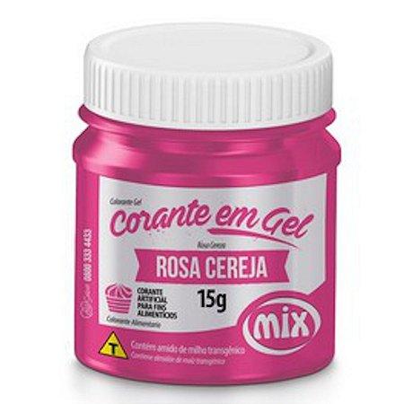 Corante Em Gel Mix 15g Rosa Cereja