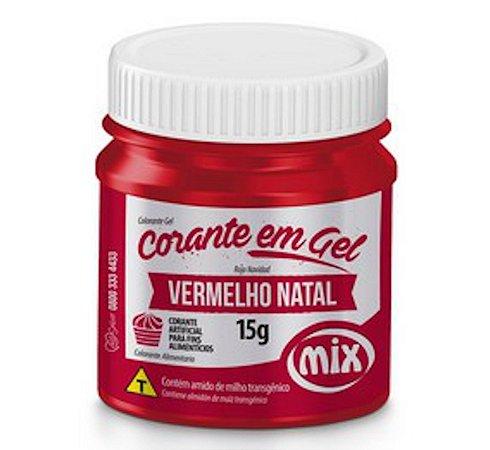 Corante Em Gel Mix 15g Vermelho Natal