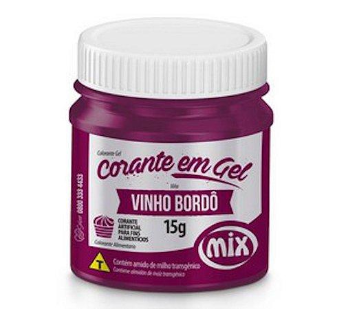 Corante Em Gel Mix 15g Vinho