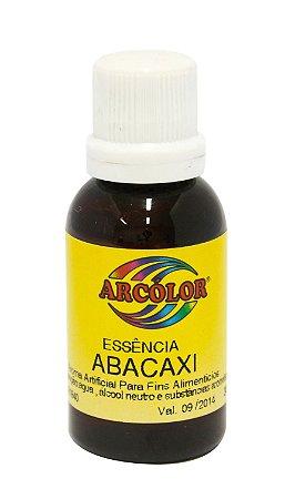 Essencia Arcolor Alcolica 30ml Abacaxi