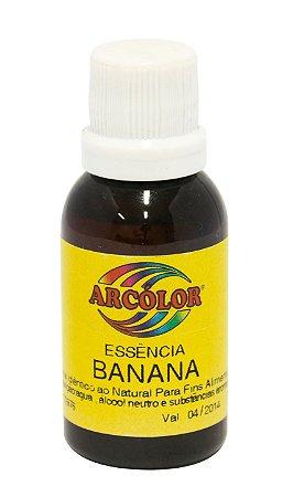 Essencia Arcolor Alcolica 30ml Banana