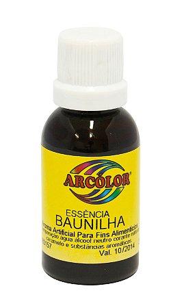 Essencia Arcolor Alcolica 30ml Baunilha
