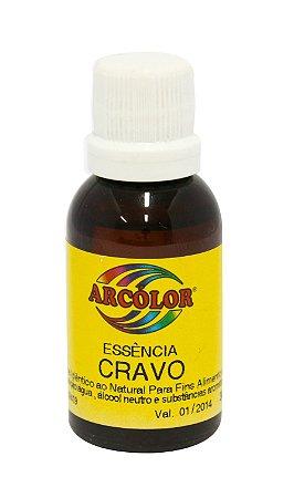 Essencia Arcolor Alcolica 30ml Cravo
