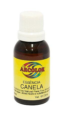 Essencia Arcolor Alcolica 30ml Canela