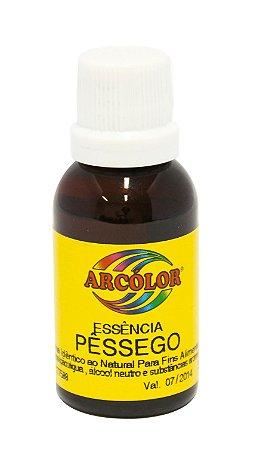 Essencia Arcolor Alcolica 30ml Pessego