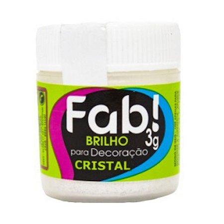 Corante Brilho Para Decoracao Fab 3g Cristal