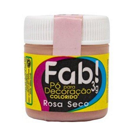 Corante Em Po Para Decoracao Fab 3g Rosa Seco