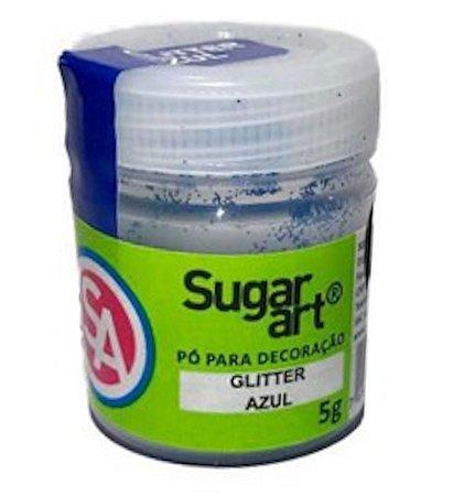 Glitter Para Decoracao Madi 5g Azul