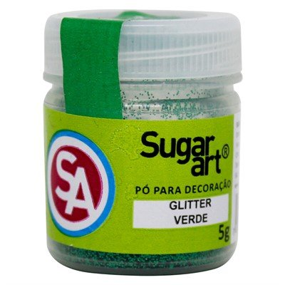 Glitter Para Decoracao Madi 5g Verde