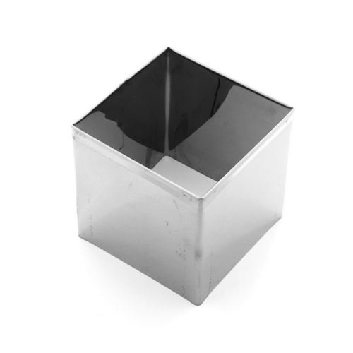 Aro Cortador Quadrado (Inox) N.4 6,3x4cm