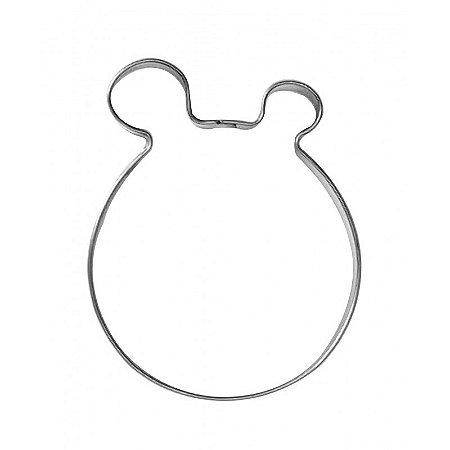 Cortador Para Confeiteiro (Inox) Hipopotamo Com 1un
