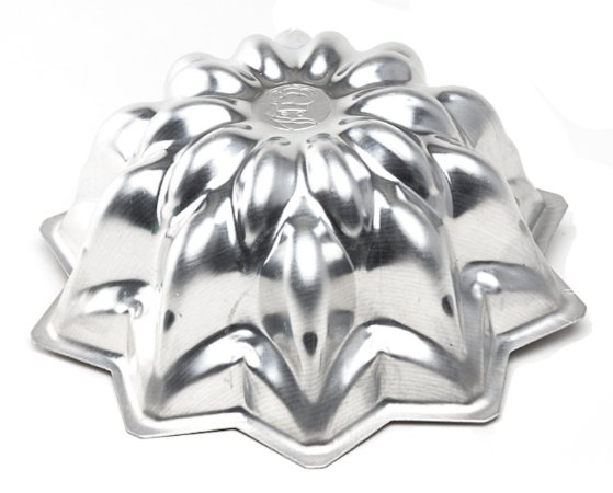 Forma De Bolo Cascata (Alum) 22x9