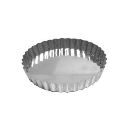 Forma Torta Maca Crespa Fixa (Alum) 17x3