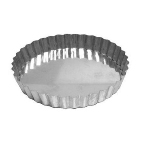 Forma Torta Maca Reta Fixa (Alum) 21x2