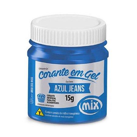 Corante Em Gel Mix 15g Azul Jeans