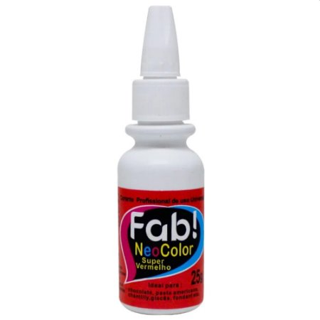 Corante Neocolor Fab 25g Super Vermelho