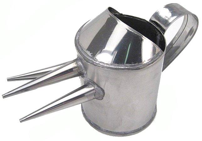 Coador Fio Ovos Tipo Regador (Inox)