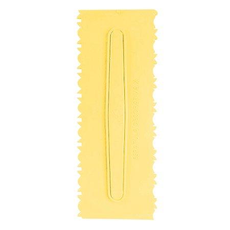 Espatula Decorativa (Plas) 10 Amarela Com 1un
