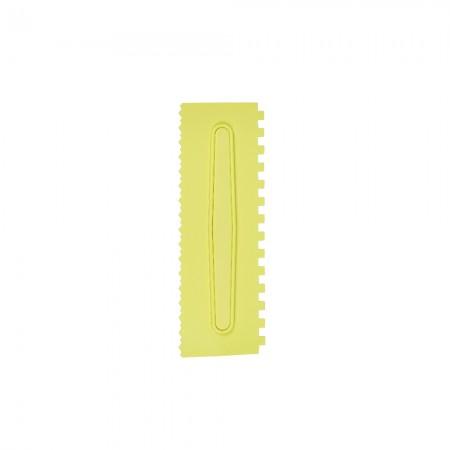 Espatula Decorativa (Plas) 01 Amarela Com 1un