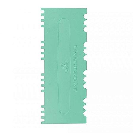 Espatula Decorativa (Plas) 16 Verde Tiffany 1un