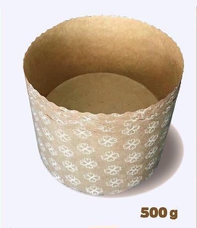Forma Panetone 500g 134x95 Kraft Com 10un