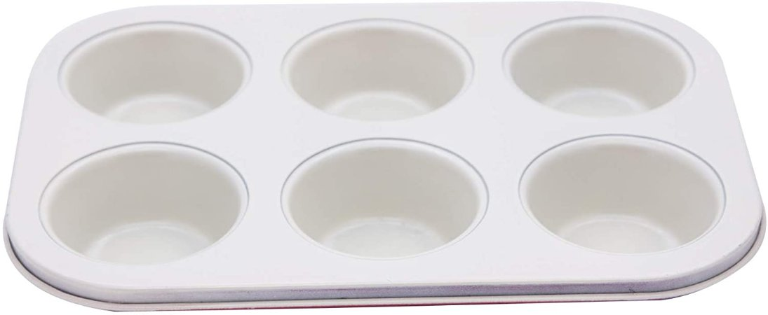 Forma Para 6 Cupcakes Rev Ceramico 27x35