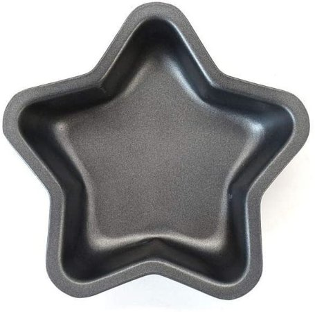 Conjunto 2 Mini Formas Estrela 11,5 Cm