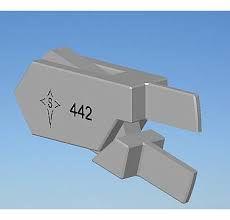 ALICATE 442 L  ANGLE (TWEED) - STARLET