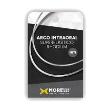 """Arco Intraoral Rhodium Superelástico Grande NiTi Redondo Ø0,30mm (.012"""")"""