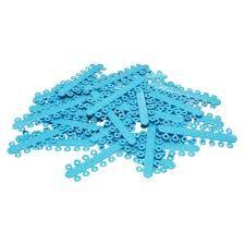 """Elástico Separador Modular Azul Claro Ø 5/32"""" = 4.0mm"""