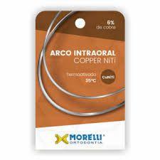 """Arco Intraoral Copper NiTi 35°C Superior Redondo Ø0,45mm (.018"""")"""