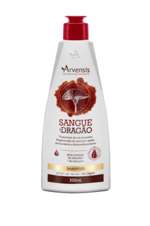 Shampoo Sangue De Dragão Arvensis 300Ml