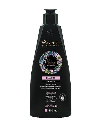 Shampoo Cachos Naturais Sem Sulfato - 300Ml